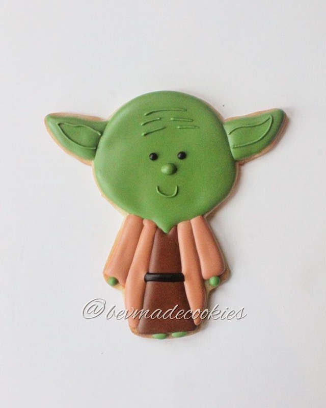 Yoda Cookie