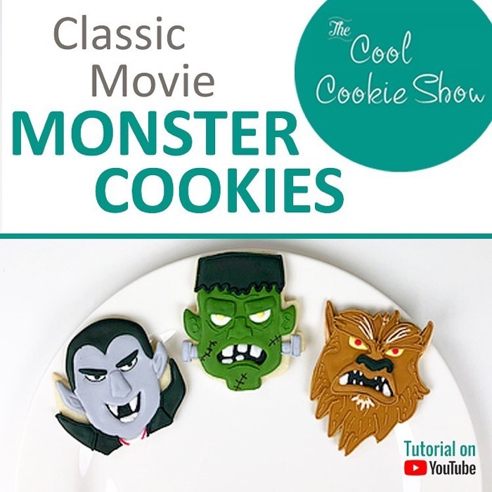 Classic Movie Monster Cookies