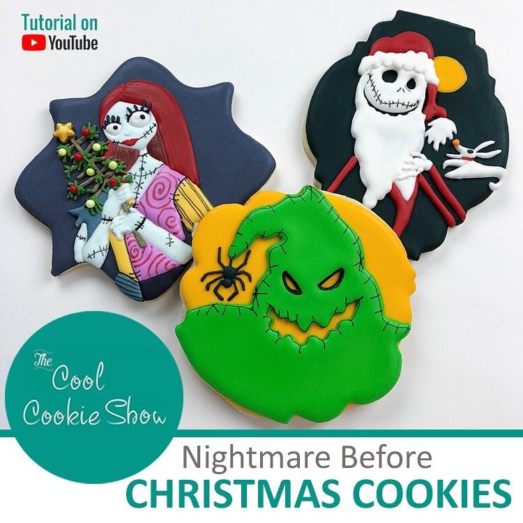 Nightmare Before Christmas Cookies