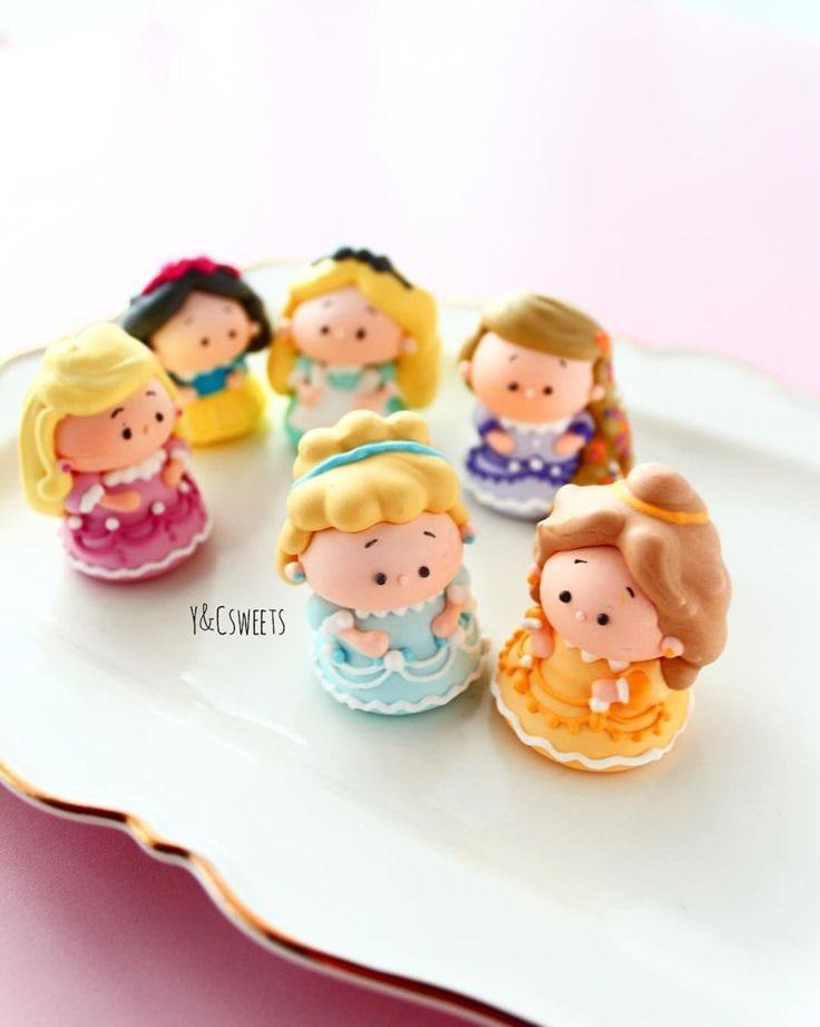 Disney Princess Meringue Cookies