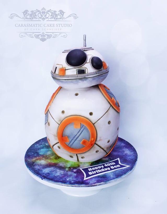 BB 8 cake