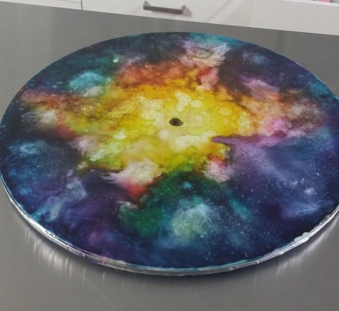 BB 8 Cake board