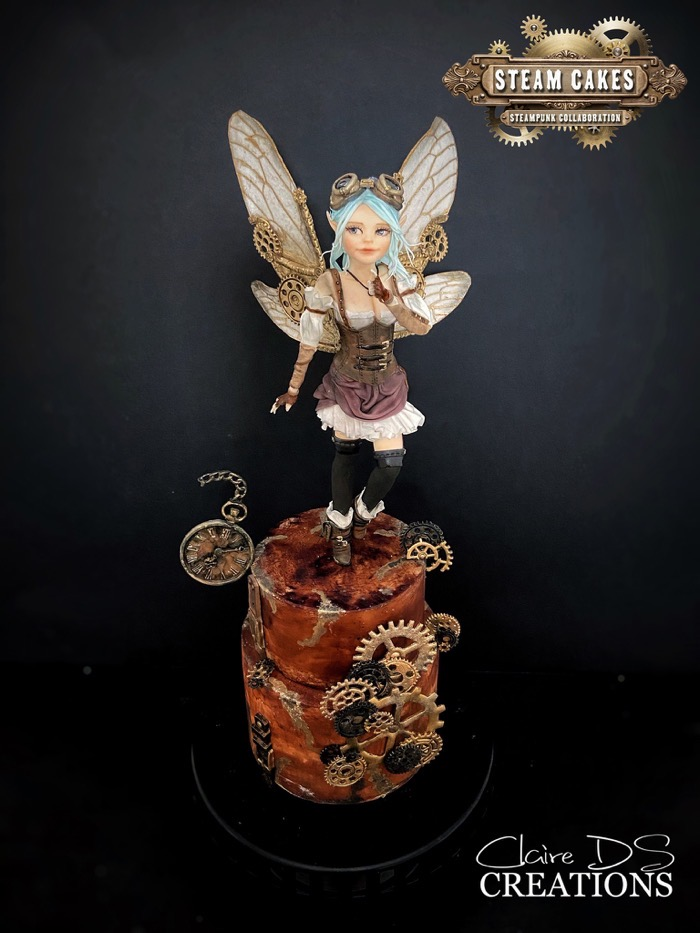 Steampunk Fairy Cake