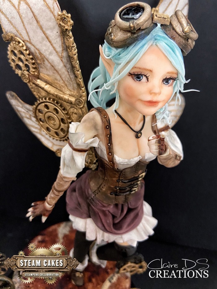 Steampunk Fairy Cake 3
