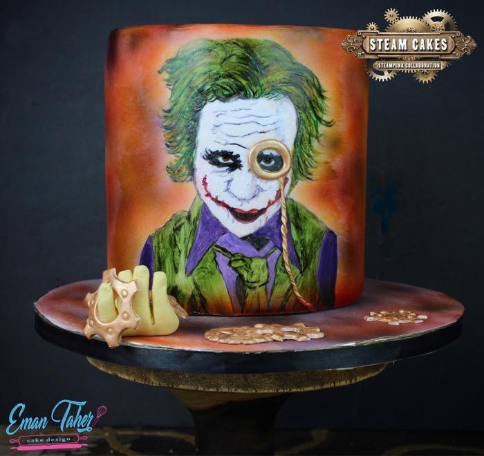 Steampunk Joker Cake