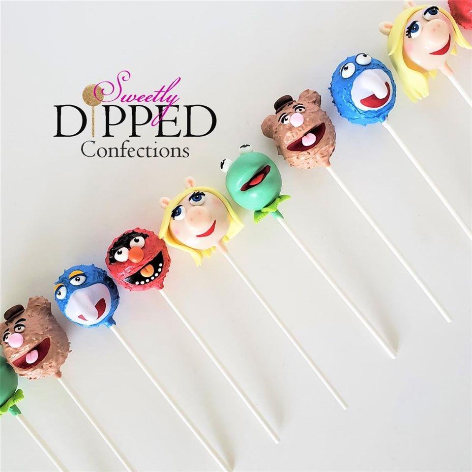 Muppets Cake Pops