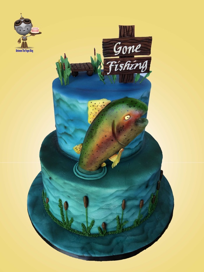 Gone Fishing Cake 6
