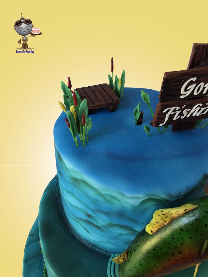 Gone Fishing Cake dock