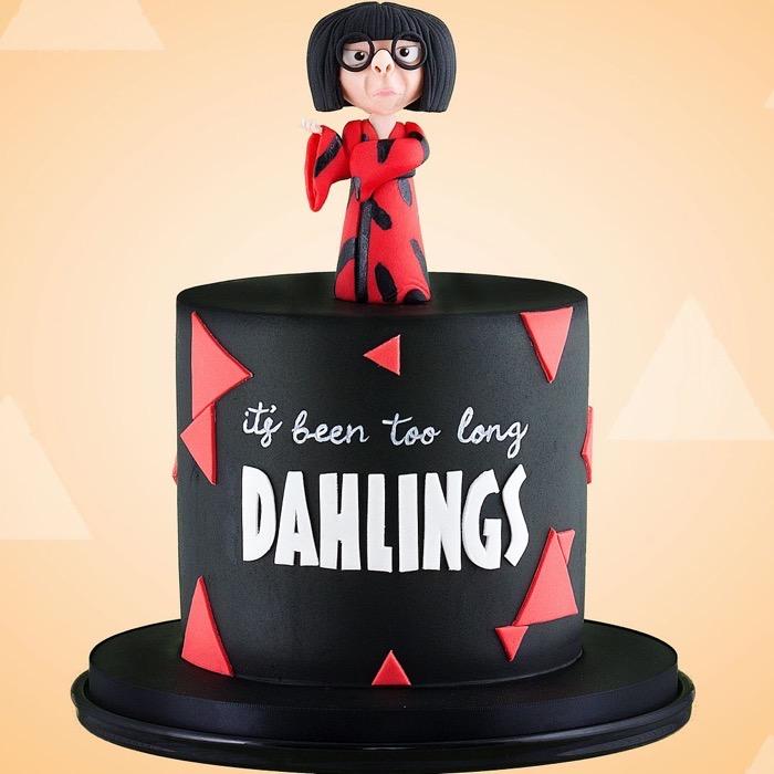 Edna Mode Cake