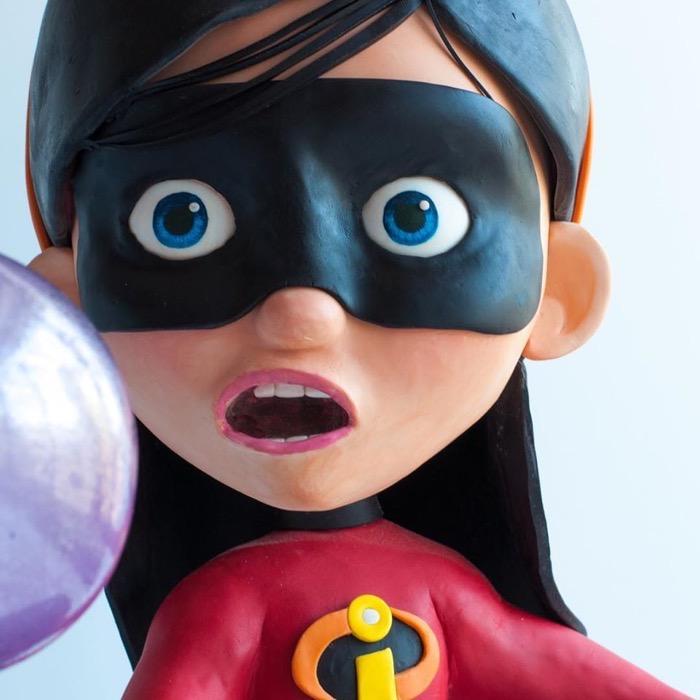 Incredibles Violet Cake 2