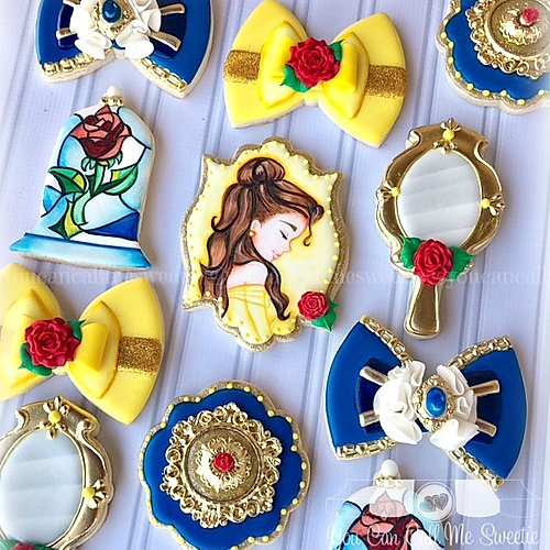 Beauty and the Beast cookies you can call me sweetie
