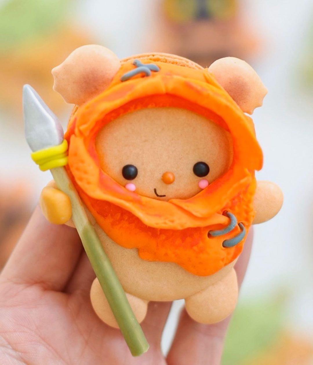 Ewok Macaron
