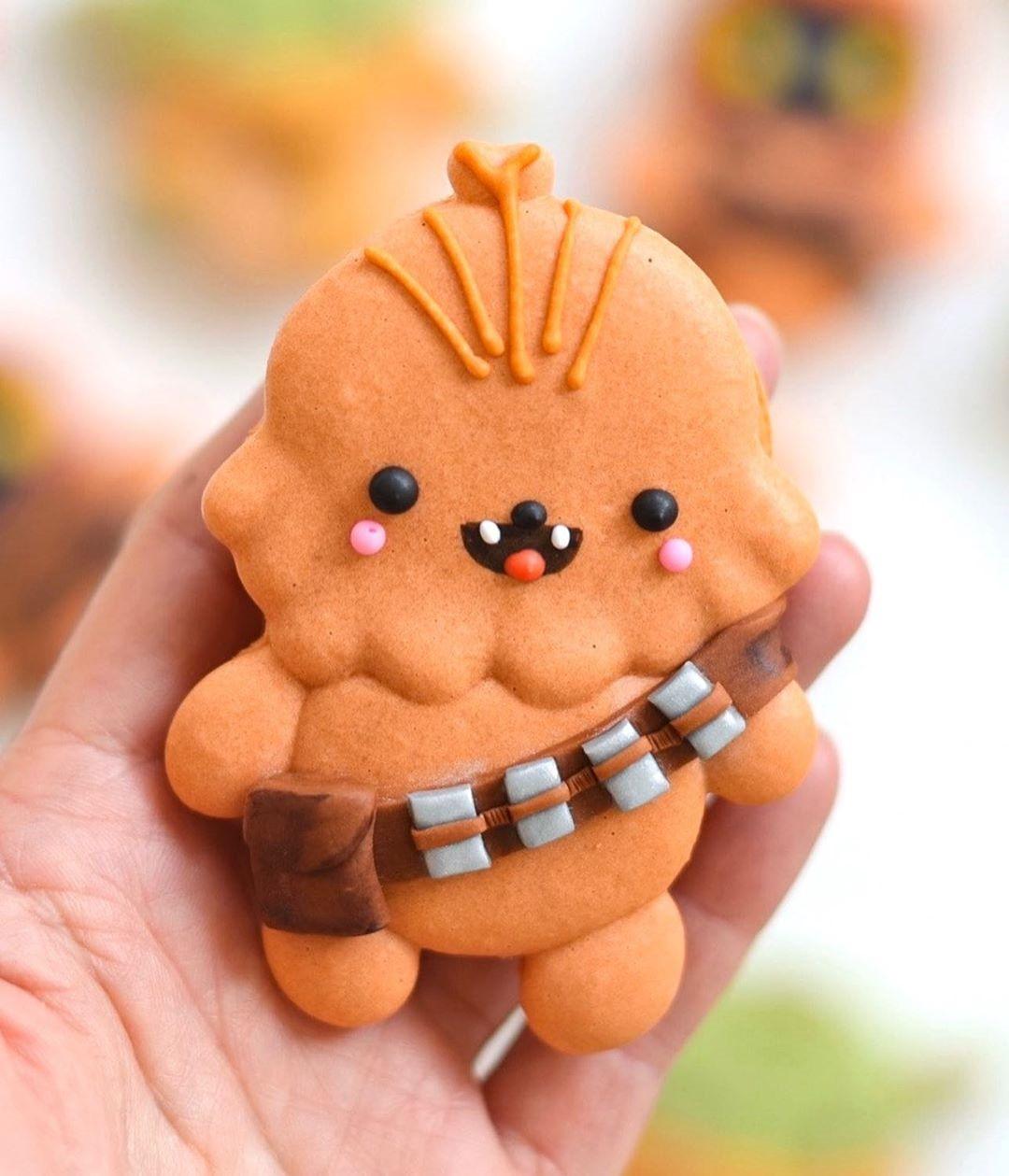 Chewbacca Macaron