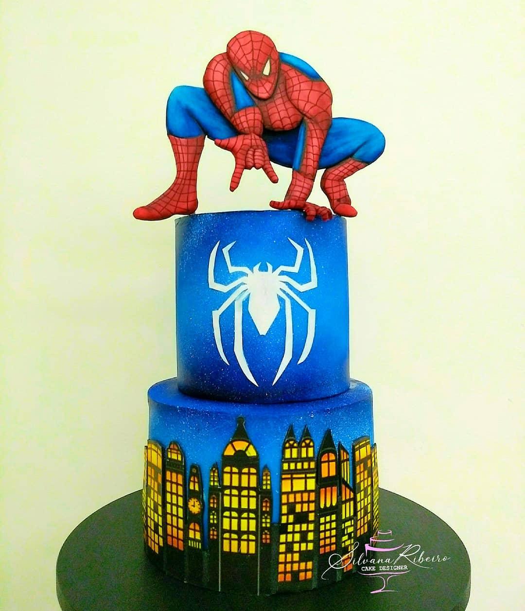 Spider Man Cake 2