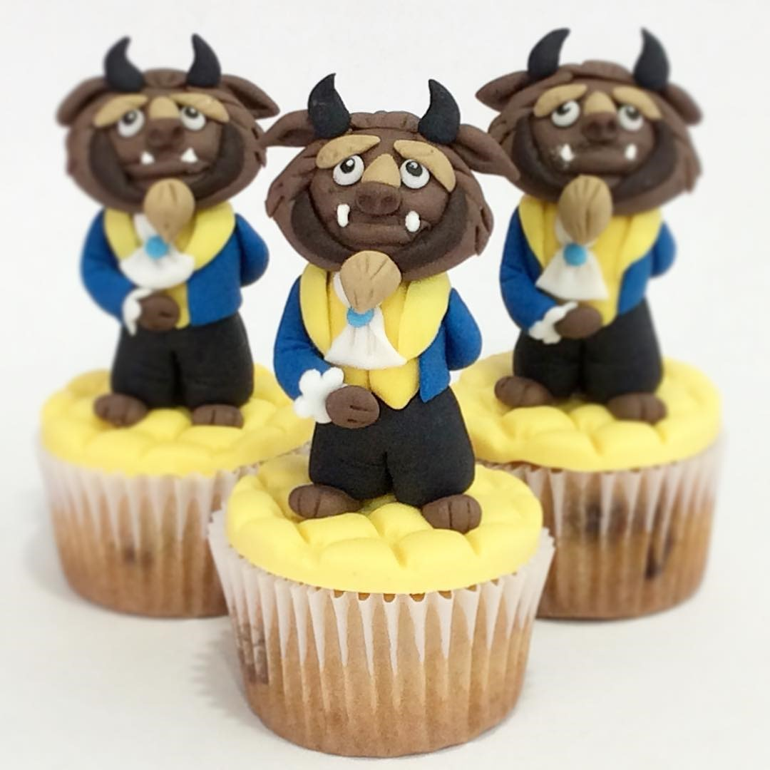 Beast Cupcakes