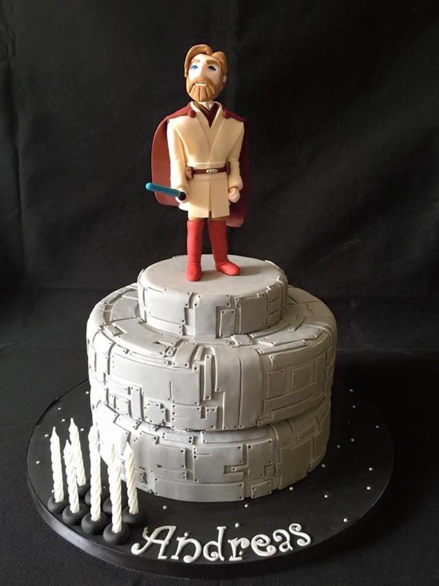 Obi Wan cake Cloud 9 cakes