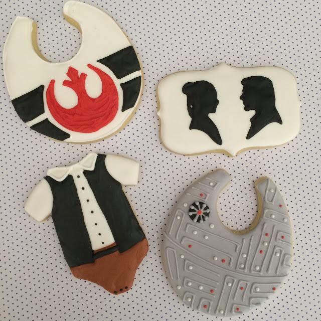 Star Wars Baby Shower Cookies