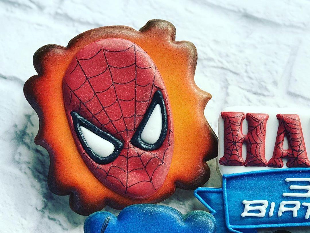 Spider-Man 3rd Birthday Cookie
