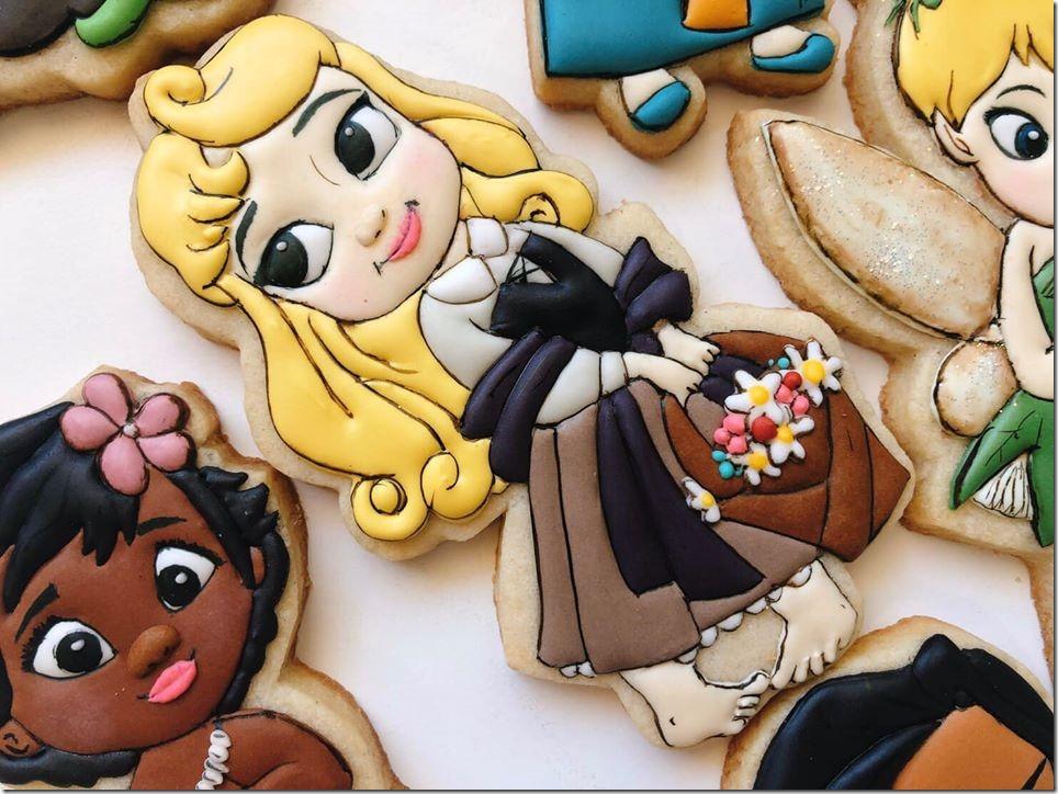 Baby Aurora Cookie