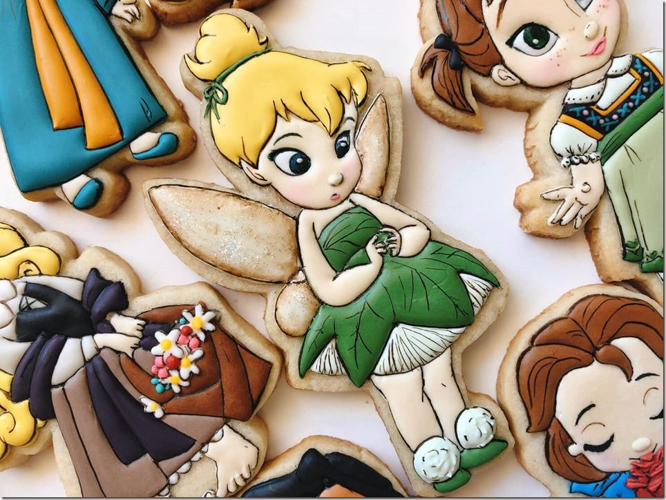 Baby Tinker Bell Cookie