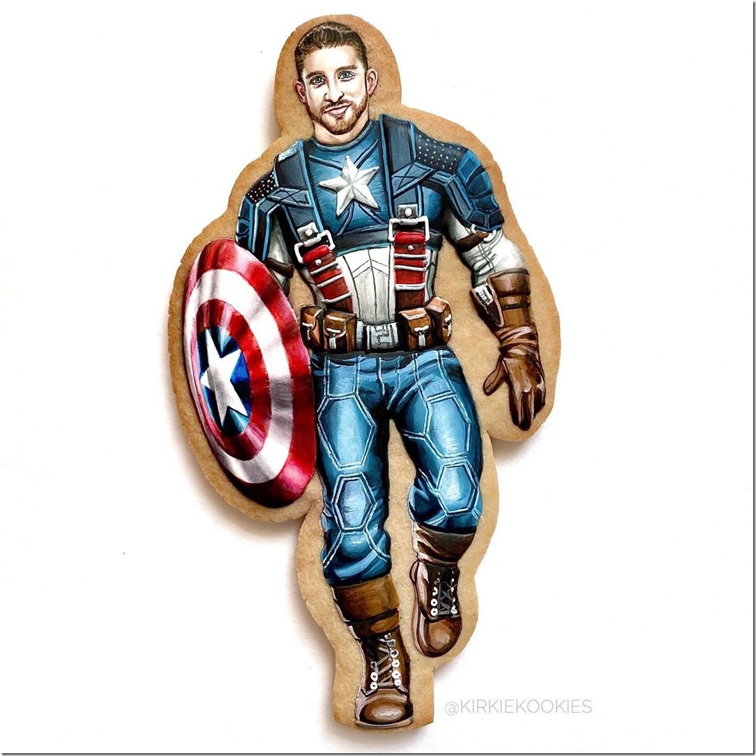 Captain America Cookie