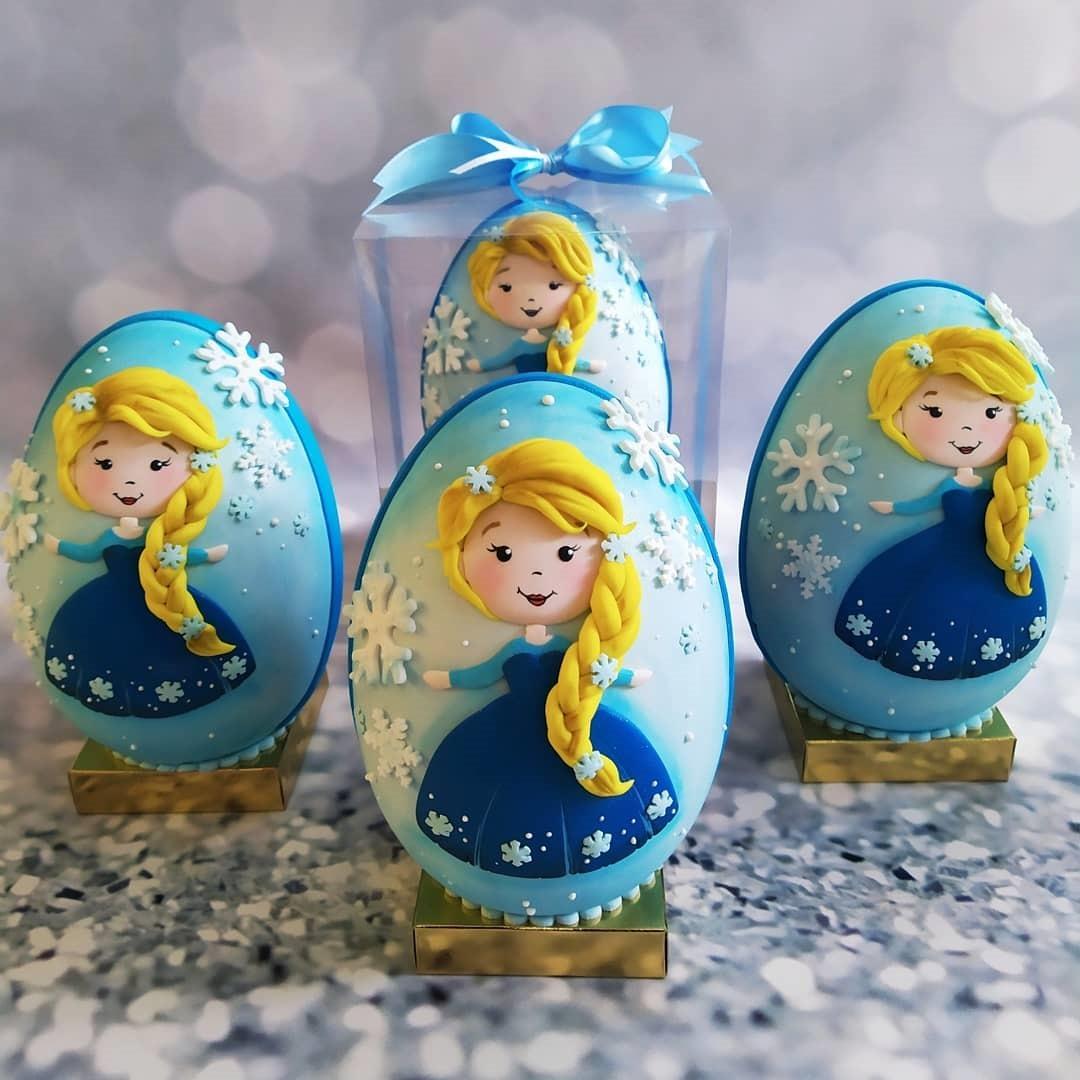 Princess Elsa Easter Eggs