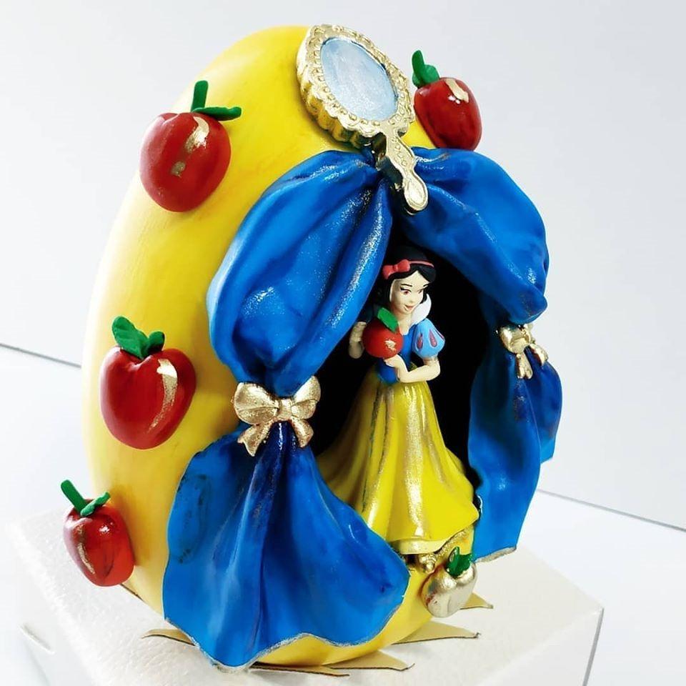 Snow White Easter Egg