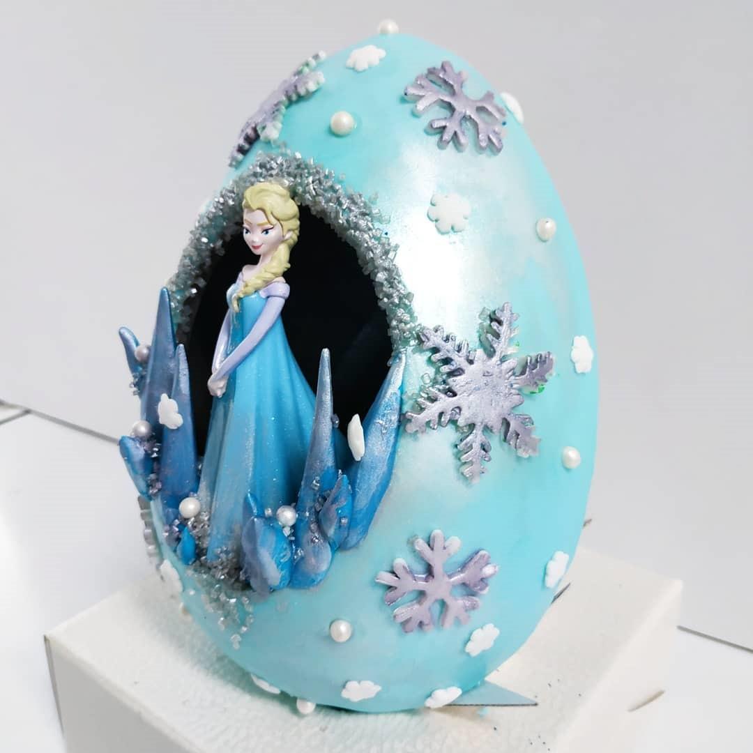 Princess Elsa Easter Egg