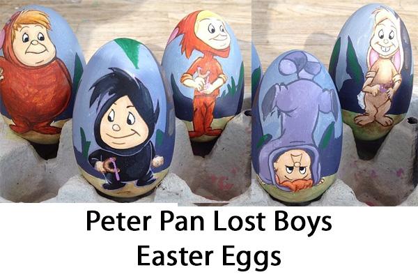 Peter Pan Lost Boys Easter Eggs