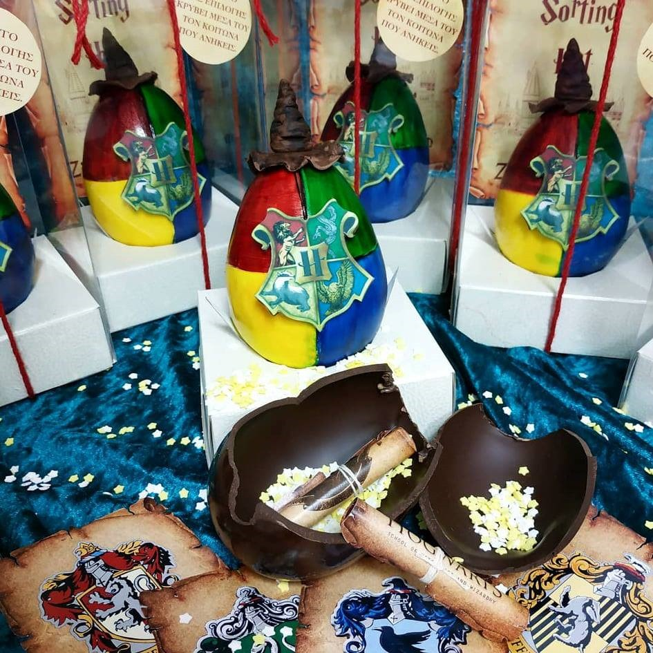 Harry Potter Chocolate Easter Eggs