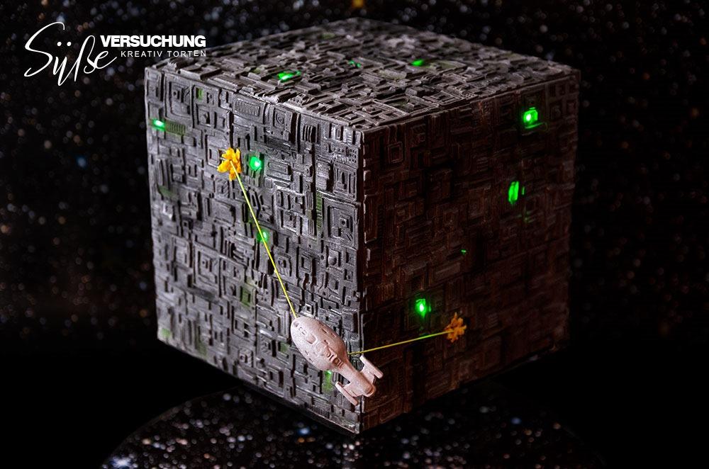 Borg Cube Cake