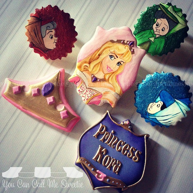 Sleeping Beauty Cookies