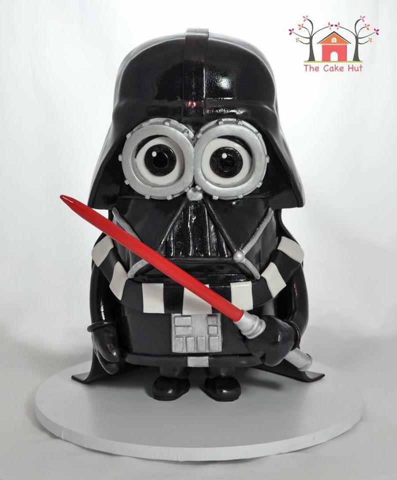 Darth Vader Minion Cake