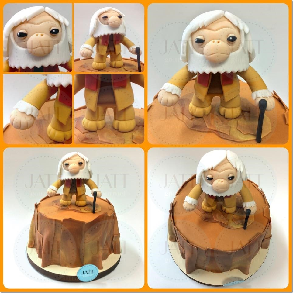 Planet of the Apes Cake