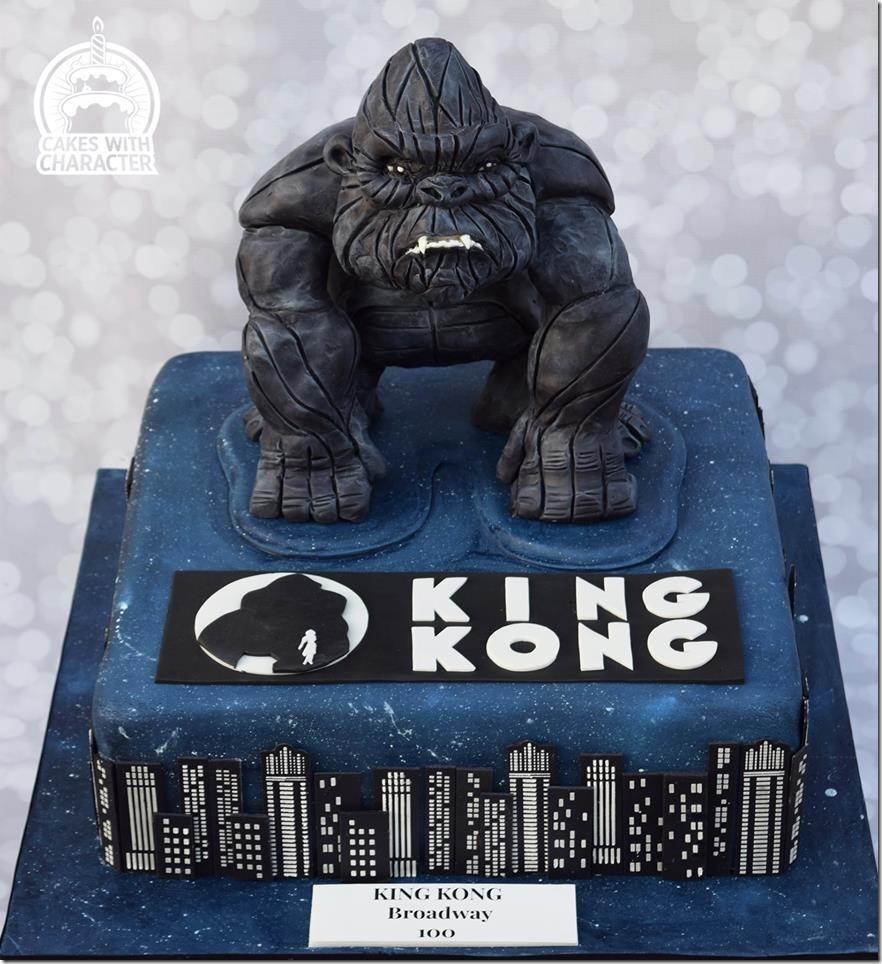King Kong Cake for Broadway Musical