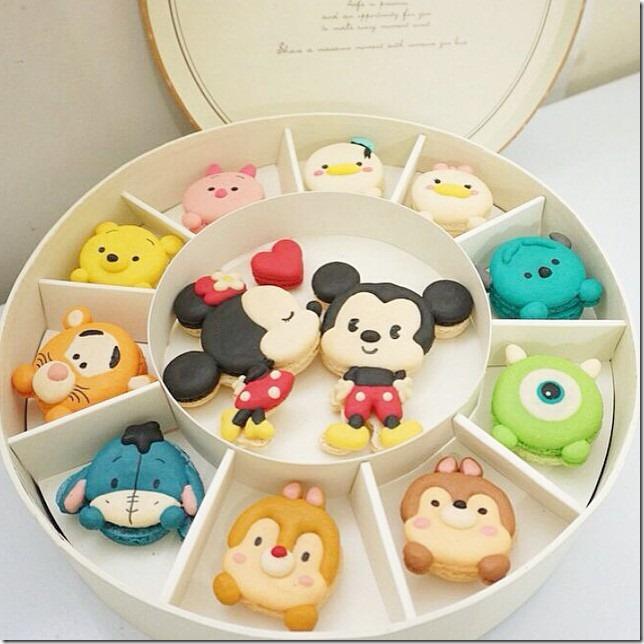 Disney Tsum Tsum Macroons