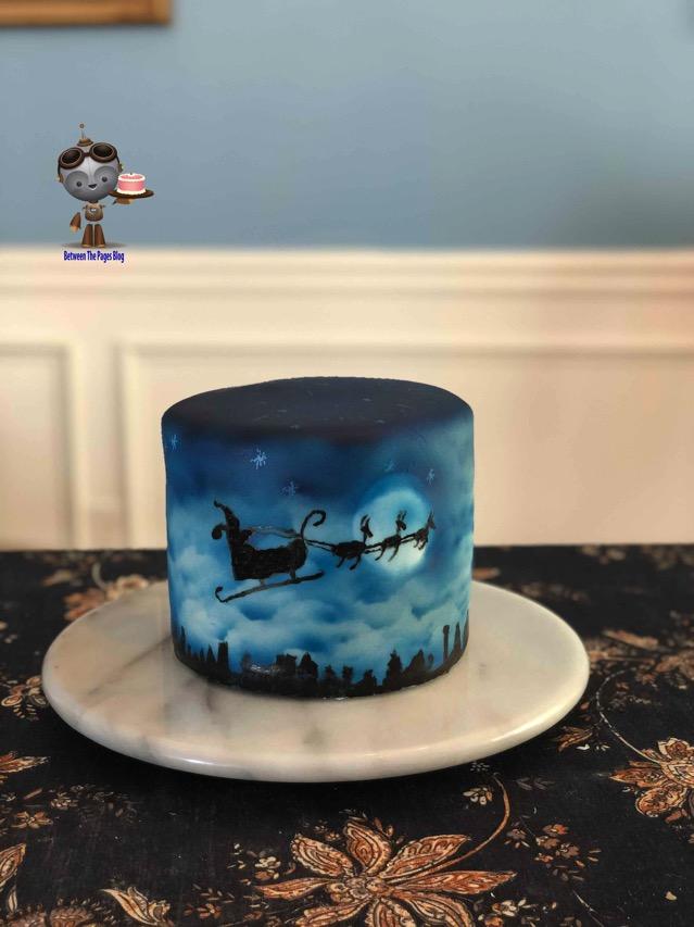 Santas Midnight Sleigh Ride Cake