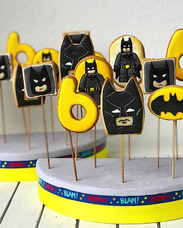 LEGO Batman cookie pops