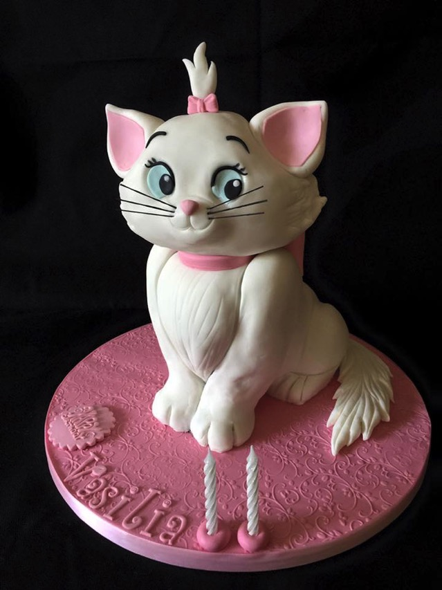 Marie Sculpted Cake