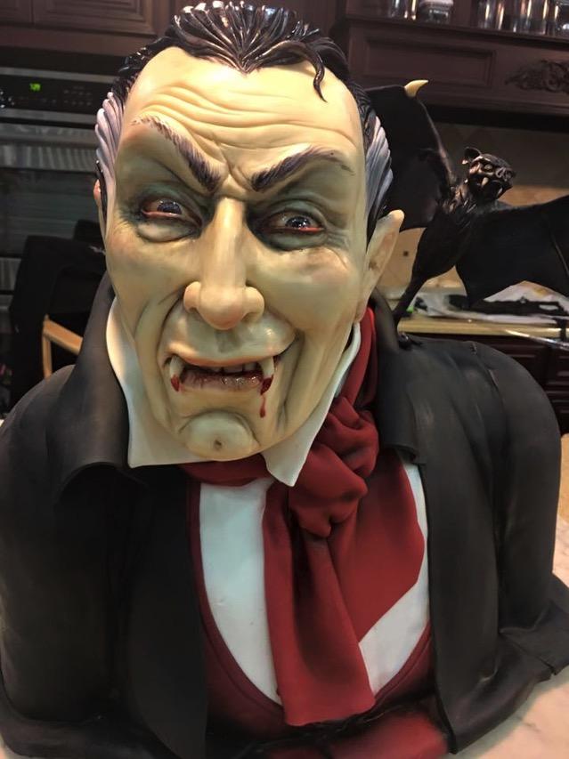Count Dracula Cake