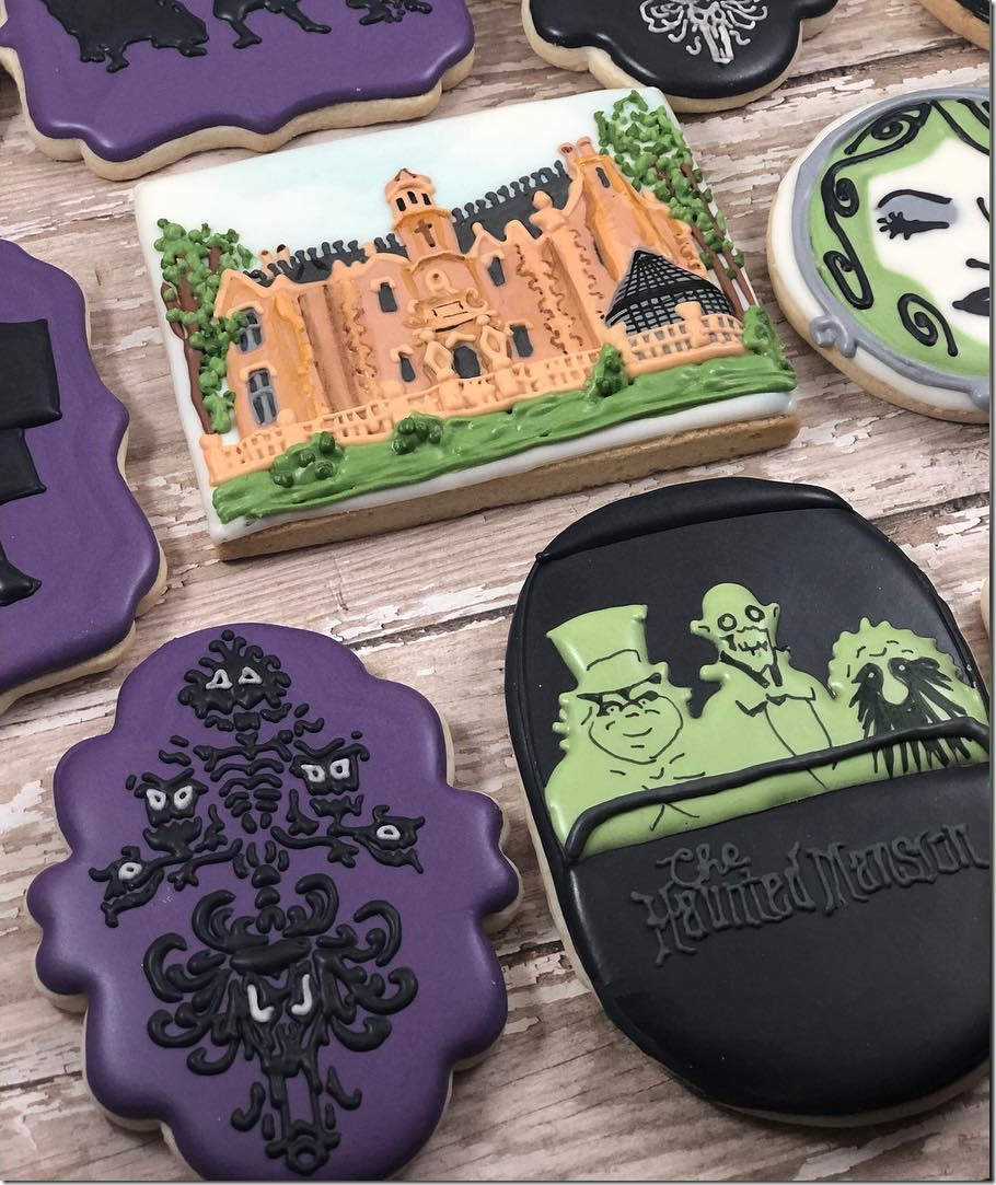 Haunted Mansion Cookies