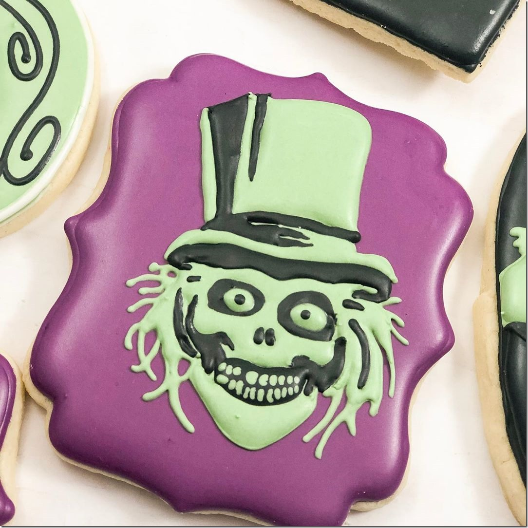 Hatbox Ghost Cookie