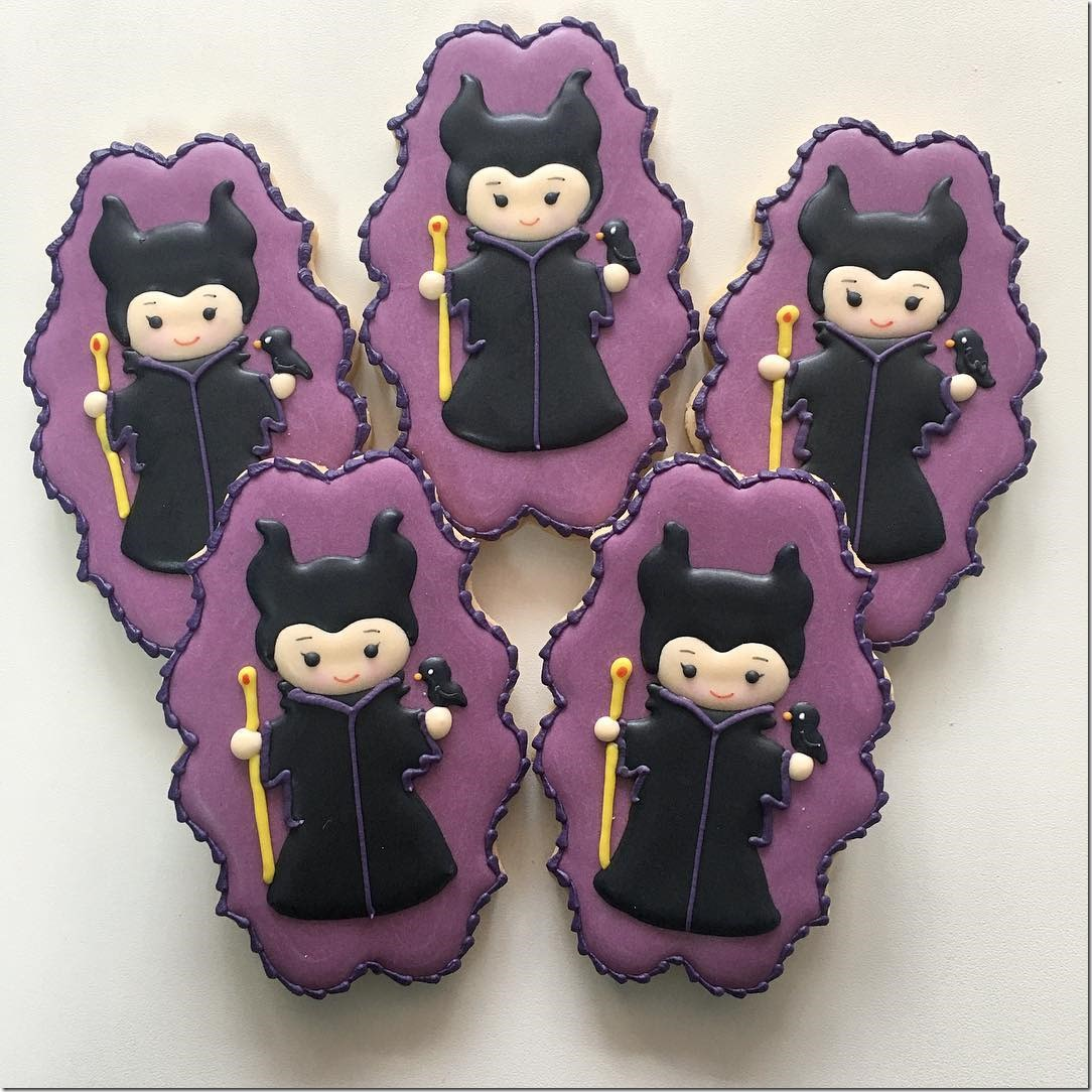 Maleficent Cookies