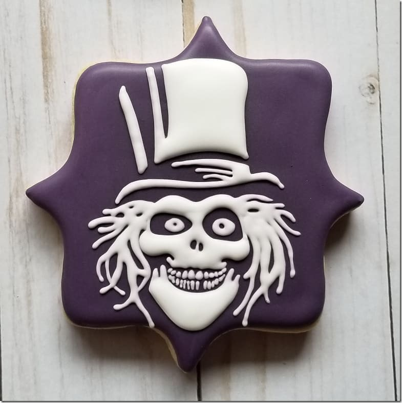 Hatbox Ghost Cookie