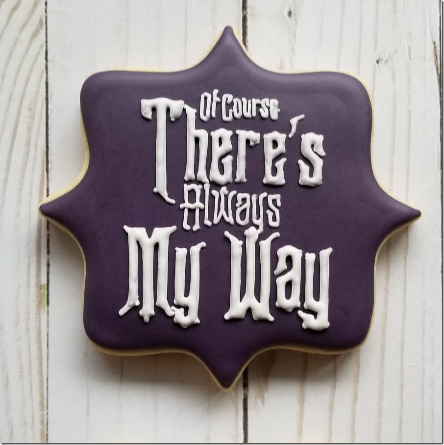 Haunted Mansion Cookie