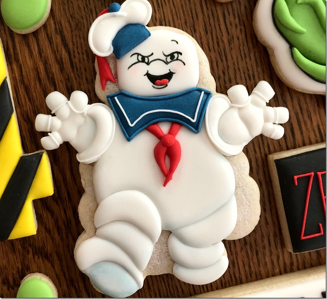 Stay Puft Marshmallow Man Cookie
