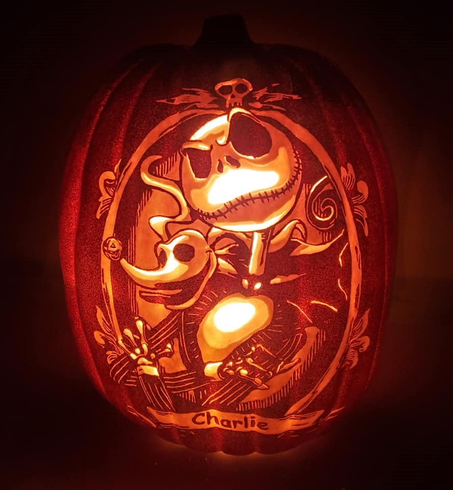 Nightmare Before Christmas Pumpkin Carving