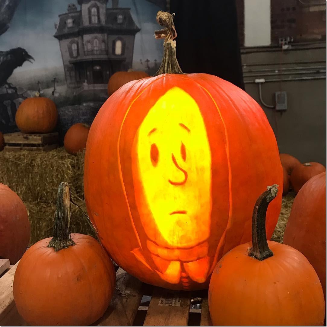 Wednesday Addams Pumpkin Carving