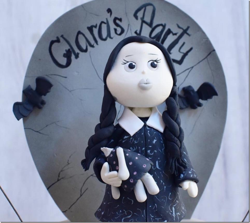Wednesday Addams Cake Topper