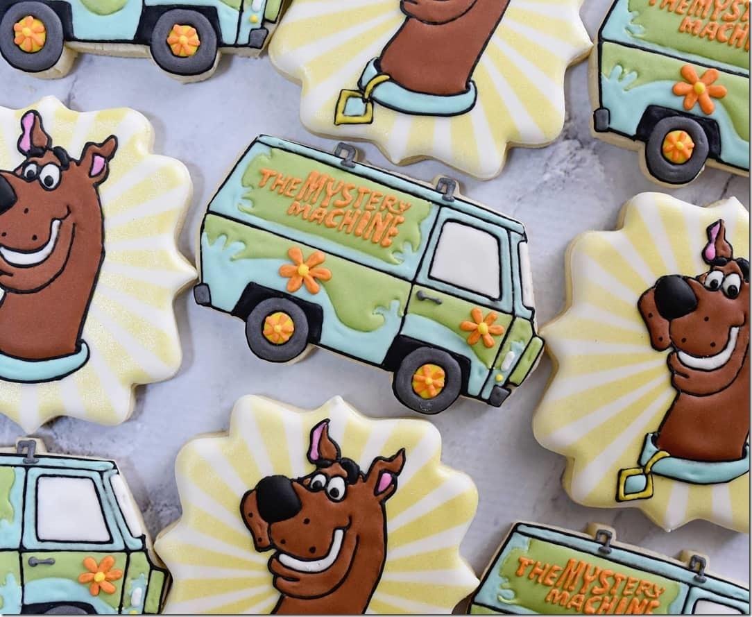 Scooby-Doo Cookies
